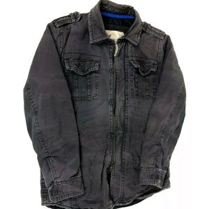 American Eagle Outfitters Military  Denim jacket
